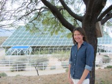 Naomi Tague at Biosphere2